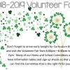 Want to get involved at BSS?  Volunteer Fair TONIGHT!