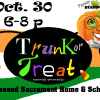 OCT. 30th  Family Reading Night / Trunk-or-Treat