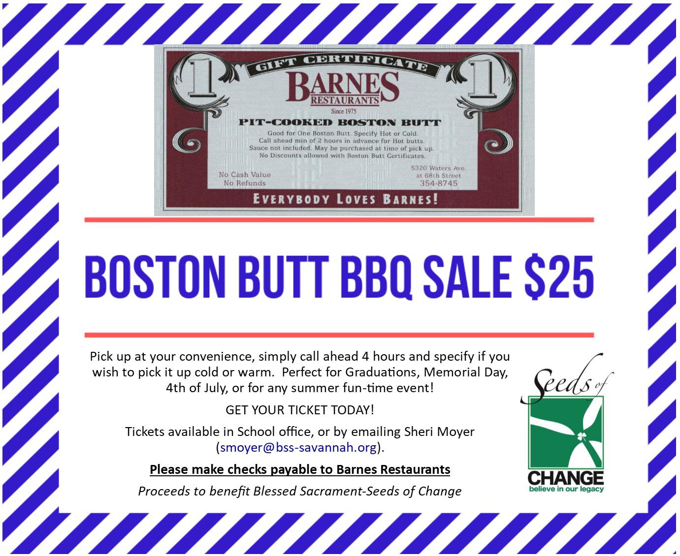 BARNES-BBQ-4Sale - Blessed Sacrament Catholic School