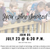 JOIN US!  July 23rd