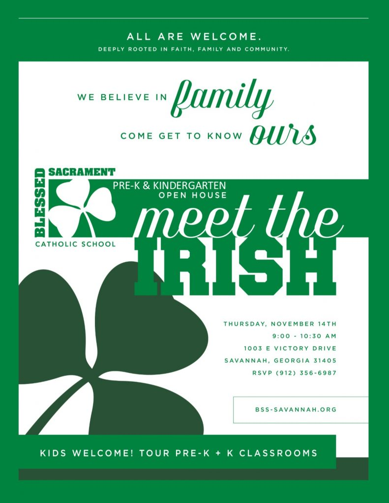 JOIN US November 14th, for Meet the Irish!   Come and see why it's so GREAT to be Irish!