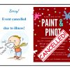 Paint&Pinot: CANCELLED
