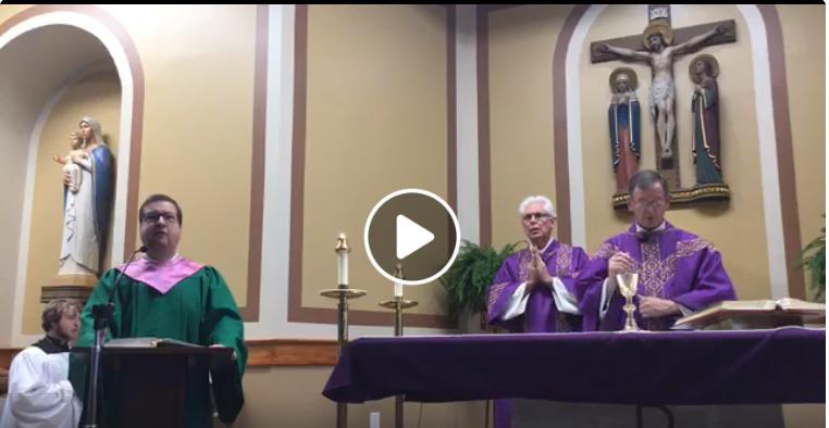 800 a.m. Sunday Mass, 4th Sunday of Lent