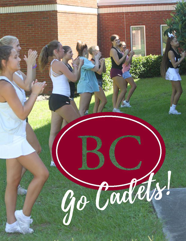 Congratulations to St. Vincent's Academy students, BSS Alumni,  Madie Ward (c/o 2020), Rosie Hogan (c/o 2019) and Eloise Logan (c/o 2019) for being selected for the Benedictine Military School cheer team.   We can't wait to see you on the sidelines! Way to go ladies!