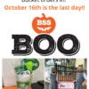 Boo Bucket Deadline TODAY!