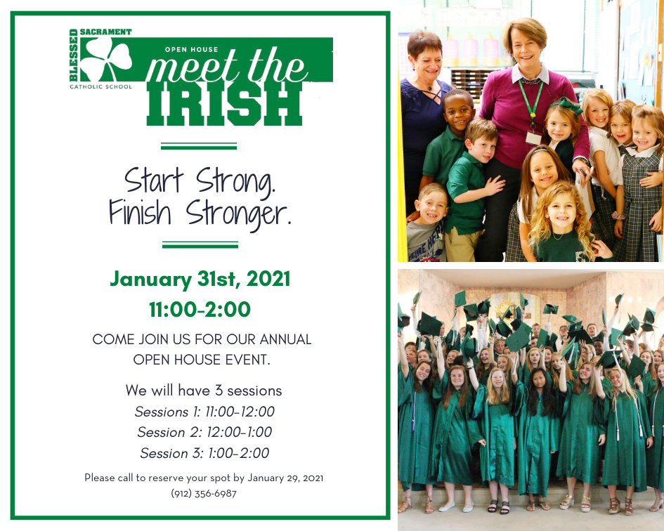 Start Strong-Finish Stronger!  Join us Jan. 31st for our annual Open House event.  3 Session times available.  Book now to reserve your space.