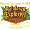 2021 VBS – Save the Date!